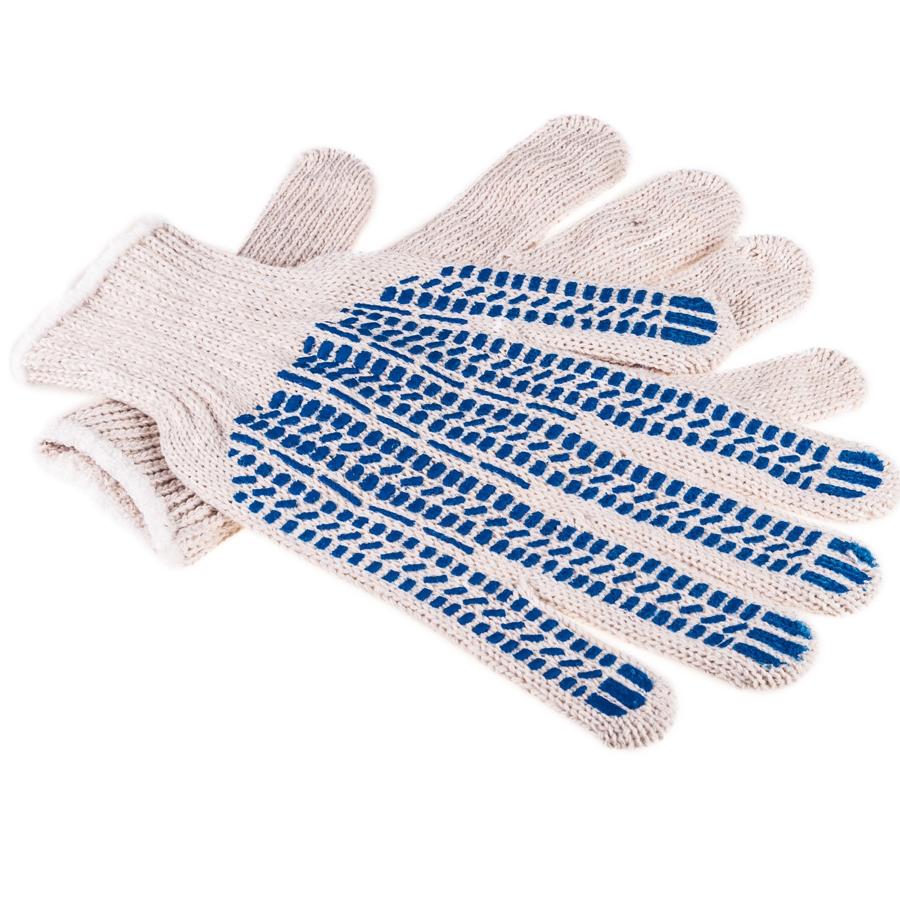 перчатки хб с пвх нанесением протектор