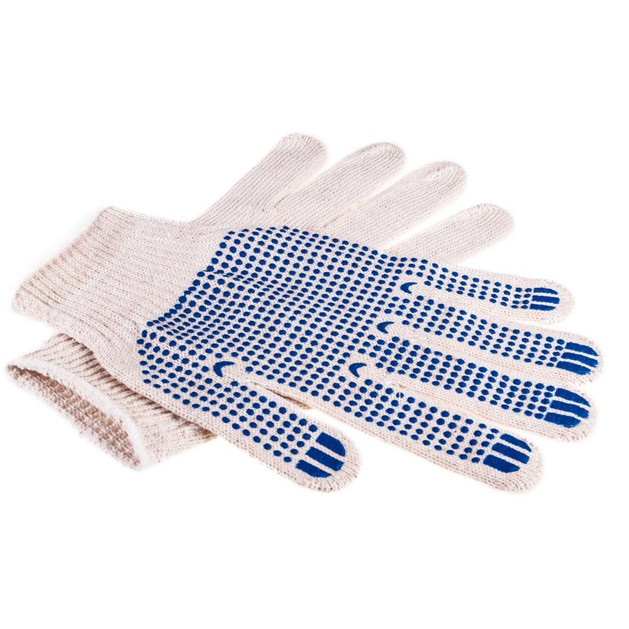 перчатки хб с пвх нанесением