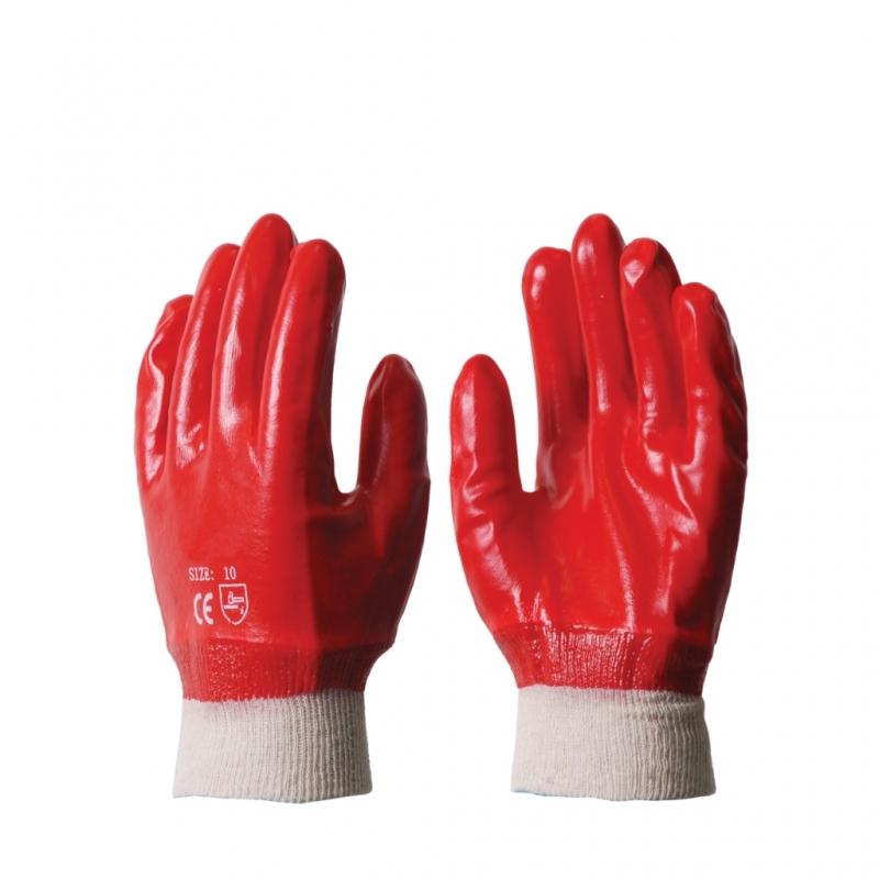 Перчатки Гранат маслобензостойкие с полимерным покрытием