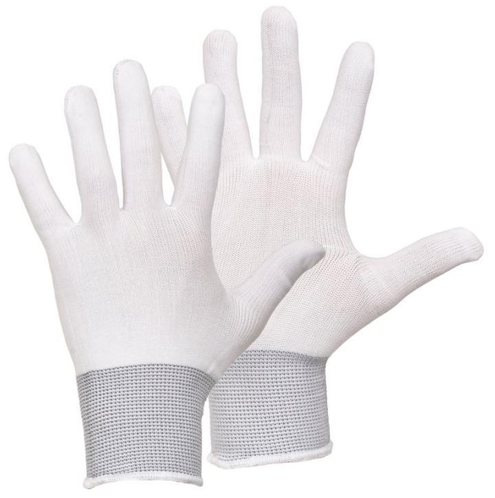 Перчатки нейлоновые люкс