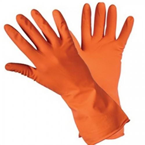 Перчатки латексные хозяйственные тип Lotos