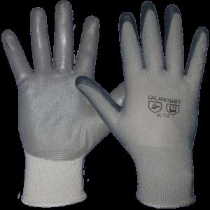перчатки нейлоновые с нитриловым покрытием1