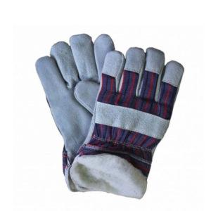 Перчатки «Ангара» спилковые комбинированные утеплённые