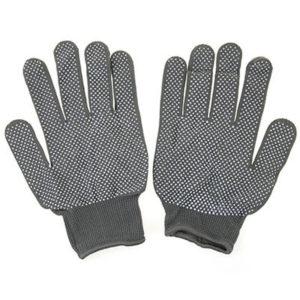 перчатки нейлоновые эконом с пвх микроточкой