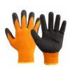 перчатки акриловые с рифлёным латексным покрытием