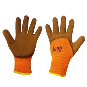 Перчатки акриловые с вспененным латексным покрытием