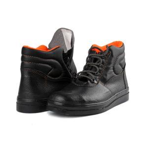 Ботинки рабочие асфальтоукладчика с нитриловой подошвой