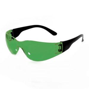 Очки защитные открытые тип Классик Тим зелёные