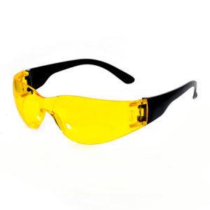 Очки защитные открытые тип Классик Тим жёлтые