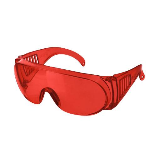 Очки защитные открытые тип Люцерна красные